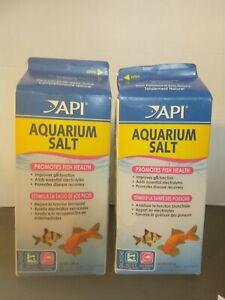 API Aquarium Salt 65oz Lot of 2