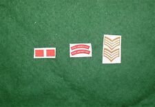 1/6 WW2 di British Royal Warwickshire Regiment titoli spalla patch set lotto