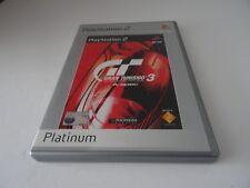 Gran Turismo 3: A-Spec - Platinum (Sony PlayStation 2, 2002) - Complete - PAL