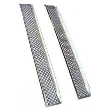 2 Rampes droites en aluminium avec rebords - 1.80 mètre remorque - quads - moto