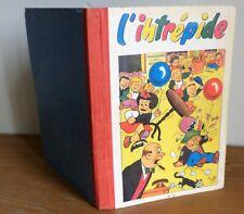 Reliure éditeur Journal de l'intrépide N°33 1956 bel état