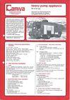 Fire Equipment Brochure - Camiva  JP 13 Heavy Pumper Renault Truck 1982 (DB320)
