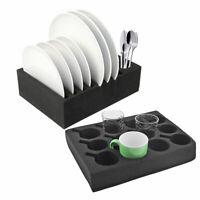 Wohnwagen Wohnmobil Geschirrhalter Tassenhalter Tellerhalter Glashalter Set