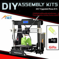 Anet A8 3D Printer Prusa i3 DIY Kit - Multiple Filament Types, Large Printing TO