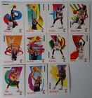 1991-92 Skybox Series 1 Miami Heat Team Set Of 11 Basketball Cards