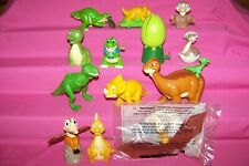 Lot of 12 Land Before Time Toys / Figures Wendy's 2003