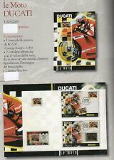 folder postali le moto ducati - emesso nel 31-05-2008