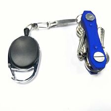 5PCS Practical Alloy Anti-lost Telescopic Stretchable  Key Chain Keyring Tool