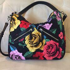 Vera Bradley Havana Rose Retired Vivian Hobo Shoulder Bag 🌹