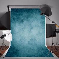 5x7ft Dark Blue Photography Vinyl Background Photo Studio Props Cloth Backdrop