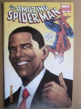 2009 MARVEL COMICS THE AMAZING SPIDER-MAN #583 OBAMA VARIANT 2ND PRINTING (A1)
