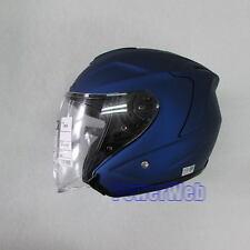 SHOEI J FORCE 4 J-FORCE Matt Blue Metallic S Small  HELMET Japan Made
