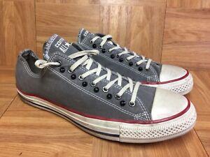 RARE🔥 Converse Chuck Taylor All Star Rockstar Studs Low OX Gray Canvas Sz 10.5