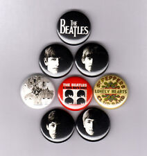 "THE BEATLES 1"" PINS / BUTTONS (lennon abbey road revolver lp record poster art)"