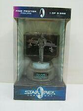 Star Trek Champions Fine Pewter Figure- Khan Limited Edition (Box Sd#9)