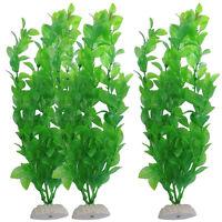 Aquariumpflanzen Grün künstliche- Aquarium Deko Pflanzen Wasserpflanzen 26cm
