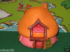 SCHTROUMPF SCHLUMPF PITUFO HOUSE ROSE/ORANGE #1002