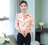 Blouses Elegant Women Office Summer Girl Stylish Ladies Lady Blouse T-Shirt Tops