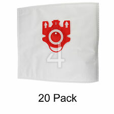 20 x Vacuum Cleaner Hoover Dust Bags & Filters For Miele C1 C2 Compact FJM Type