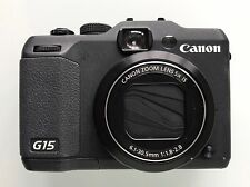 Canon PowerShot G15 12.1MP Digital Camera Black *12 Months Warranty* cub