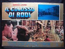 FOTOBUSTA CINEMA - IL COLOSSO DI RODI - SERGIO LEONE - 1961 - MITOLOGICO/STORICO