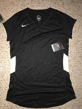 NWT Nike Women's Court Warrior Black Volleyball Jersey *M*