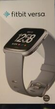 Fitbit Versa Smartwatch Gray Band S+L Bands Included