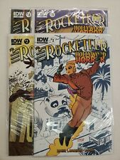 THE ROCKETEER: HOLLYWOOD HORROR #1-4 COMPLETE SET VF/NM 2013 IDW COMICS ROGER
