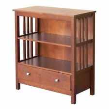 cmxl mission cherry bookcase dp decor finish kitchen com amazon tier bookshelves style legacy dining wood