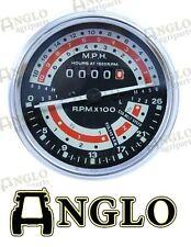Massey Ferguson 135 Tractor Rev Counter Tachometer Tractormeter MPH LH 6 Gear