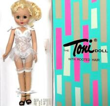 Robert Tonner Effanbee Vinyl TONI DOLL Basic Blonde Doll Rooted Hair 2007