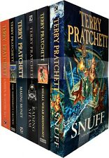 Discworld Novel Series 8 Terry Pratchett Collection 6 Books Set (36-41) Snuff
