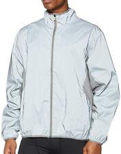 Spiro Reflectex Hi Viz Mens Running Jacket - Silver