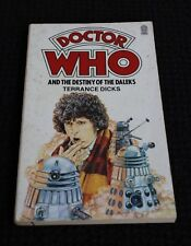 Doctor Who And The Destiny Of The Daleks - Soft Cover Book - Terrance Dicks