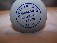 C.P. CLARE & CO.  SJ 38018  8 PIN ENCLOSED RELAY