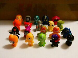 Gogo's Crazy Bones Series 1 Single Figures Lot #3 Drop Down Menu