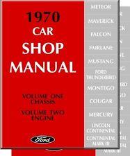 1970  MUSTANG/GT/MACH 1/FAIRLANE SHOP MANUAL