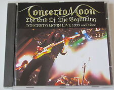CONCERTO MOON.THE END OF THE BEGINNING-LIVE -  (CD)