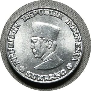 elf Indonesia Irian Barat 1 Sen 1962 Sukarno Withdrawn