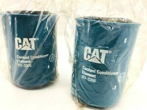 Lot of 2 Caterpillar 9N-3368 Coolant Conditioner Filter Element 9N3368