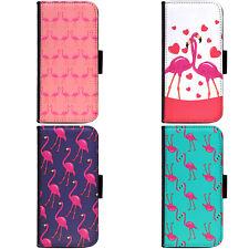 Couple Design Flamingo Pattern Phone Wallet Flip Case HTC Nokia Oppo Xiaomi