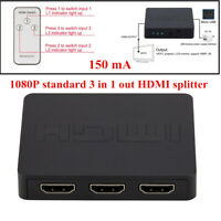 Multi-function HD HDMI Switcher 1080P Standard 3 in1 out HDMI Splitter For DVD
