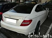 painted Mercedes-Benz C250 C350 C63 AMG type Trunk Spoiler C204 C 204 350 63 Lip