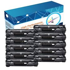 10pk Black Toner Cartridge For Canon 128 ImageClass D530 D550 MF4770n MF4880dw