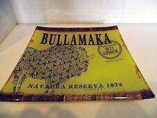 BULLAMAKA WINES OF THE WORLD ARTISAN GLASS SQUARE PLATTER