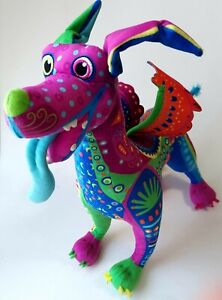 Disney Store Pixar Coco Dante Alebrije Plush Spirit Day Of The Dead Dog Plush