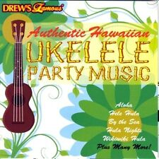 Drew's Famous AUTHENTIC HAWAIIAN UKELELE PARTY MUSIC: UKULELE LUAU HULA SONGS CD