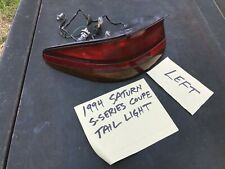 1994 Saturn S-Series Coupe Left Tail Light Assembly Used