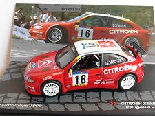 CITROEN XSARA WRC #16 BUGALSKI CHIARONI RALLY CATALUNYA 1999 IXO ALTAYA 1/43