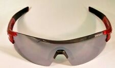 Tifosi Escalate Shield, Metallic Red (Color Sample), Smoke Lenses